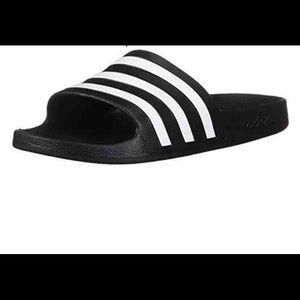 Adidas Color: Black/White Sandals